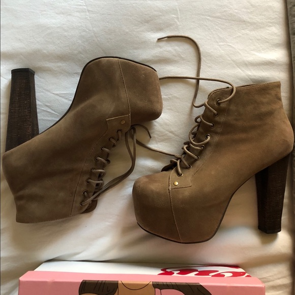 186d8d63fdb Jeffrey Campbell Shoes - Jeffrey Campbell Lita Booties Size 9.5